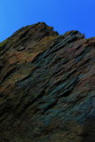 Une formation de roche colorée unique, se perfectionnent pour le fond d'image et comme texture photo stock