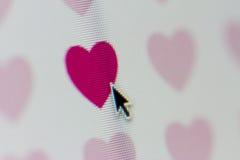 Recherche de l'amour Photo stock