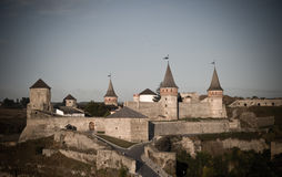 Une forteresse antique Photos libres de droits