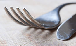 Une fourchette photo stock
