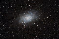 Une galaxie 33 plus malpropre Image libre de droits