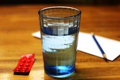 Une glace de l'eau Photographie stock libre de droits