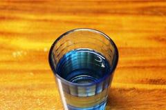 Une glace de l'eau Image stock