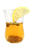 Une glace de thé vert Photo libre de droits