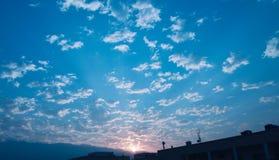 Une grande famille de nuage ! photos libres de droits