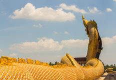 Une grande garde de serpent de Naga Photographie stock