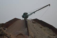 Une grande machine de sable Image stock