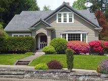 Une grande maison, Gresham OU. images stock