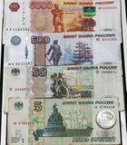 Une grande pile d'argent Image stock