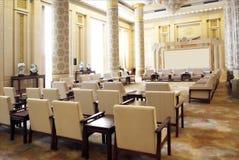 Une grande salle de réunion  Image libre de droits