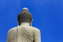 Une grande statue de Bouddha Photos libres de droits