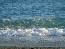Une grande vue aux vagues Photo stock