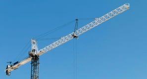 Une grue de construction Photo libre de droits