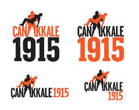 Une guerre mondiale Gallipoli - Canakkale Turquie 1915 Photos libres de droits