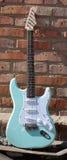 Une guitare électrique Images libres de droits