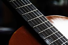 Une guitare Photo libre de droits