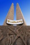 Une haute construction de monument Images libres de droits