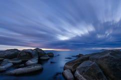 Une heure avant lever de soleil Image libre de droits