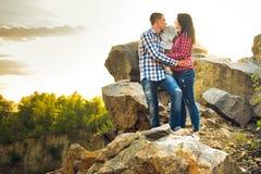Une histoire d'amour en nature Photographie stock libre de droits