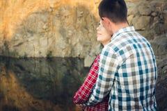 Une histoire d'amour en nature Images stock