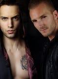 Une histoire de vampire - deux ennemis sexy Photos libres de droits