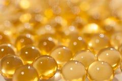 Une huile de poisson Photo stock