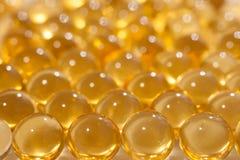 Une huile de poisson Image stock