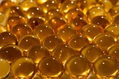 Une huile de poisson Images stock