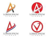 Une icône de Logo Business Template Vector de lettre Photo libre de droits