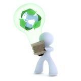 Une idée de réutilisation neuve Image libre de droits