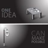 Une idée peut rendre possible Images stock