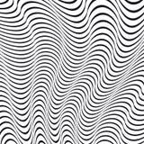 Une illusion optique noire et blanche illustration stock