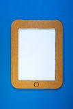 Une illustration de concept de PC de comprimé avec l'écran vide Photographie stock libre de droits