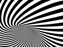 Une illustration de fond de vecteur d'illusion optique illustration de vecteur
