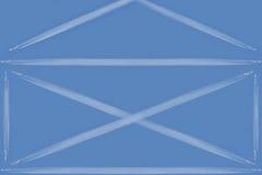 Une image abstraite de l'enveloppe de courrier Photos libres de droits