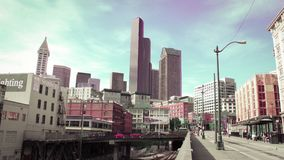 Une image beauftiful de Seattle photo libre de droits