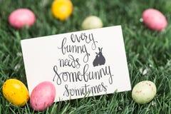 Une image composée de chaque lapin a besoin d'un certain lapin parfois Image libre de droits