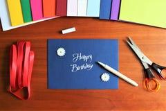 Une image d'une enveloppe, bureau images libres de droits