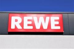 Une image d'un logo de supermarché de penny - mauvais Pyrmont/Allemagne - 10/01/2017 Images stock