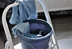 Une image de concept de nettoyer une fenêtre photo libre de droits