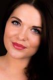 Portrait d'un beau modèle femelle Photo stock