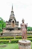Une image de marche de Bouddha Photographie stock libre de droits