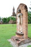 Une image de marche de Bouddha Image stock