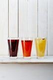 Une image des coctails de fruit photo libre de droits