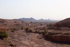 Une image large pour le désert photo stock