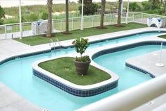 Une immersion dans la piscine Images libres de droits