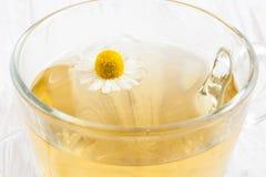 Une infusion de chamomilla de Matricaria de camomille Photos stock
