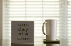 Une inspiration de café et de thé de jour à la fois Photos libres de droits