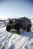 Une jeep 4X4 Photos stock