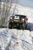 Une jeep 4X4 Images libres de droits